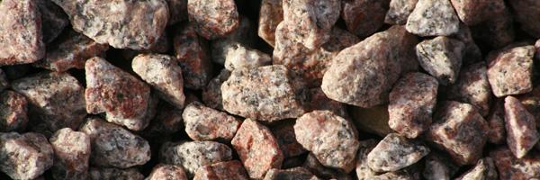 20mm Pink Granite Chippings
